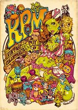 Rockin' Jelly Bean EROSTIKA R.P.M. offset print poster