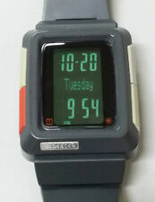 Seiko Timetron L251-4000 Grey H-Slim Module Rare Digital LCD Watch 90's Japan