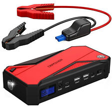 Car Jump Starter  Automotive Tools Chargers Battery Booster Smart Charging Port