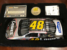 2003 Jimmie Johnson Lowes DARK CHROME Team Caliber Owners Series car
