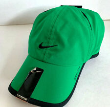 NEW! RARE NIKE Unisex  FEATHERLIGHT Runner Cap DRI-FIT Tennis Hat-Green/Black