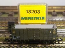 Minitrix 13203 Hochbordwagen der K.bay.sts.b.