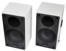 Active Wall Mount Speakers, 40W RMS (Pair) - CLEVERAUDIO