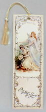 Victorian Paper Bookmark With String Tassel A Token Of Love Bride