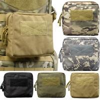 Tactical Waist Bag Multifunctional EDC Molle Tool Zipper Waist Pack Bags
