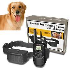 Collier de dressage étanche pour chien avec télécommande écran LCD et piles NEUF