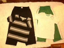 Boys clothes size 4t/5 black/gray/green/white pants t shirts outfit lot