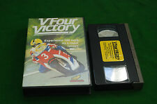 V FOUR VICTORY ROAD RACING VIDEO   RARE DELEATED VHS VIDEO