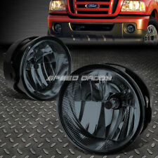 FOR 08-11 FORD RANGER 07-14 EXPEDITION SMOKED LENS BUMPER DRIVING FOG LIGHT LAMP