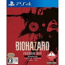 Ps4 VR Biohazard 7 Grotesque ver Premier Imprimé ED Capcom Resident Evil Japon