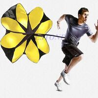 """New 56"""" Sports Speed Chute running power resistance exercise training parachute"""