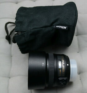 Nikon Nikkor AF-S 50 mm F/1.8 G Objektiv - neuwertig!