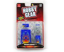 DREAM GARAGE 1 1:24 Scale Diecast Diorama HOBBY GEAR TOOL BOX DRUM CHAIR