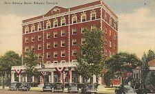 New Albany Hotel in Albany GA Postcard