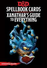 D&d xanathar's Guide to Everything Spellbook Karten 5th Edition