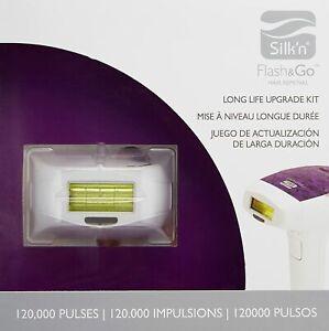 SILK'N Flash & Go Hair Removal PLUS Long Life Cartridge Luxx 120k Pulses MSRP$99