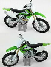 MOTOCROSS CAKE TOPPER Kawasaki KXF 250 1:18 Die-Cast MX Toy Model Bike Green