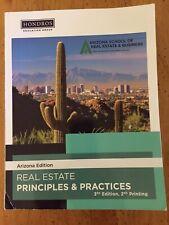Real Estate Principles & Practices 3rd Edition 2nd Printing Arizona School 2019