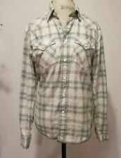 American Eagle Outfitters Plaid Vintage Fit Snap Button Shirt  XS