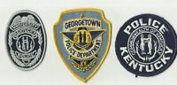 University / Georgetown / Unknow (KENTUCKY) Police Patches