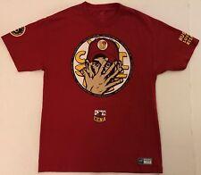 WWE Wrestling JOHN CENA Size Large Red T-Shirt