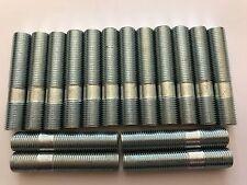 16 X M12X1.25 ALLOY WHEEL STUDS CONVERSION BOLTS 60mm LONG FITS PEUGEOT 1 65.1