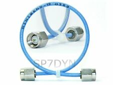 26.5GHz SMA ASTROLAB MINIBEND 12 Coaxial Flexible Microwave Cable 31cm SUHNER