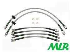 BMW Z3 2.2 2.8 3.0 SPORT M COUPE ROADSTER S/STEEL BRAIDED BRAKE LINES HOSES AEQ