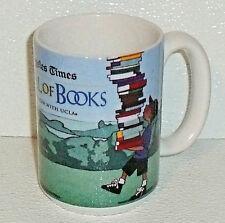 LA Times Festival Of Books Mug Cup Yan Nascimbene Castle Of Books