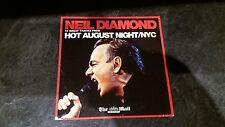 Neil Diamond Hot August Night / NYC - 10 Tracks The Mail on Sunday UK Promo CD