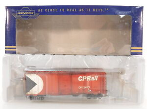 InterMountain Canadian Pacific (CP Rail) 40ft Boxcar Custom Weathered #124072