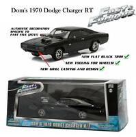 GREENLIGHT FAST AND FURIOUS 5 DOM'S 1970 DODGE CHARGER RT DIECAST CAR 1:43 86228