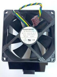 HP Foxconn 92mm Brushless 12V 0.4A 4pin Cooling Case Fan 435452-001
