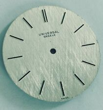 RARE UNIVERSAL GENEVE TEXTURED DIAL 29MMS VINTAGE REPLACEMENT