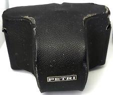 Vintage 1970's Black Petri TTL 35mm Film SLR stills camera Case