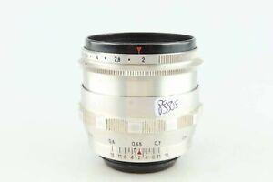 Carl Zeiss Biotar 2 58 mm Q1 10 Blades M42 Anschluss 89506