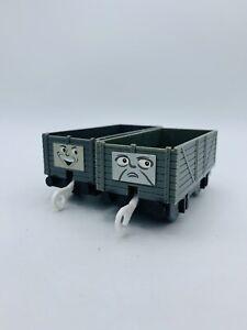 2pc Lot TROUBLESOME TRUCKS Thomas Train Friends Trackmaster Mattel