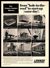 1967 Lennox Marshalltown Iowa Air Conditioning Heating Comfort Systems Print Ad