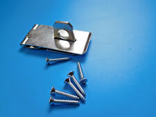 "Safety Hasp & Staple Plated 3""    75mm  + SCREWS"