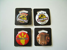 Vintage Jurassic Park pin back Button Lot
