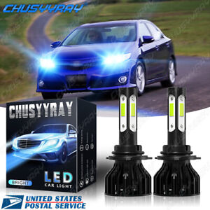 4Side 9006 LED Headlight Bulb Low Beam 8000K Ice Blue For Toyota Camry 2002-2006
