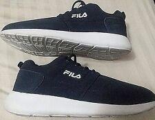 FILA - MEN'S Sz 10.5M - Dk Blue Sport Shoes - Cool Max! Excellent Condition!