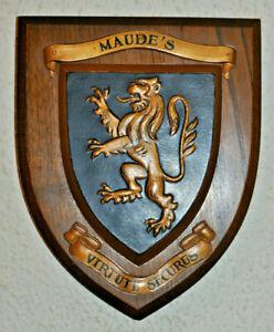 76 (Maude's) Field Battery Royal Artillery regimental plaque shield