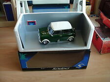 Solido Prestige Mini Cooper S 1964 in Green + White roof on 1:18 in box
