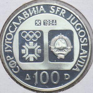 Yugoslavia 1984 KM 105 100 Dinara PF 293922 combine shipping