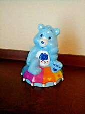 Vintage Care Bear Blue Grumpy bank