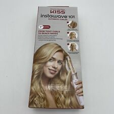 "Kiss InstaWave 101 Automatic Hair Curler Ceramic + Ionic Curling Iron 1"" Barrel"