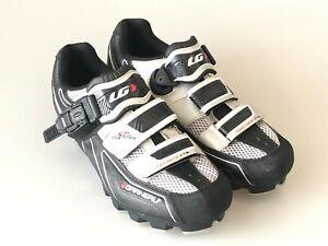 Louis Garneau HRS-80 Cycling Shoes Size 6.5 Montana XT3 TFLEX Technology Womens