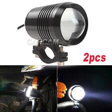 2x LED Head Spot Light Spotlight For Yamaha V-Star XVS 650 950 1100 1300 Custom