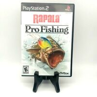 Rapala Pro Fishing Sony PlayStation 2 PS2 Complete Excellent! Tested